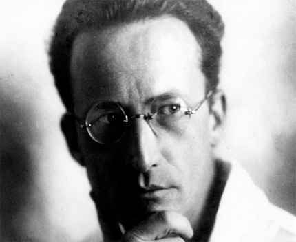 Physics Erwin Schrodinger