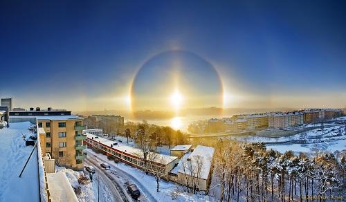 Halo of the Sun