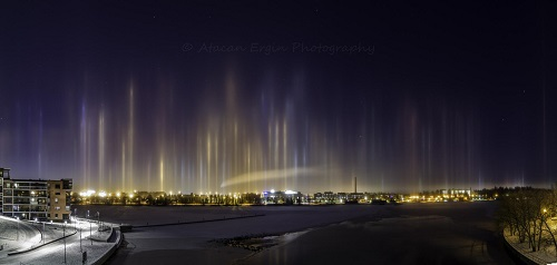 Physics of Light Pillars