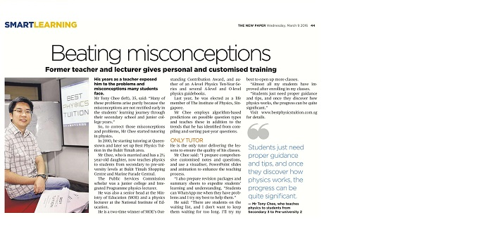The New Paper - Beating Misconceptions